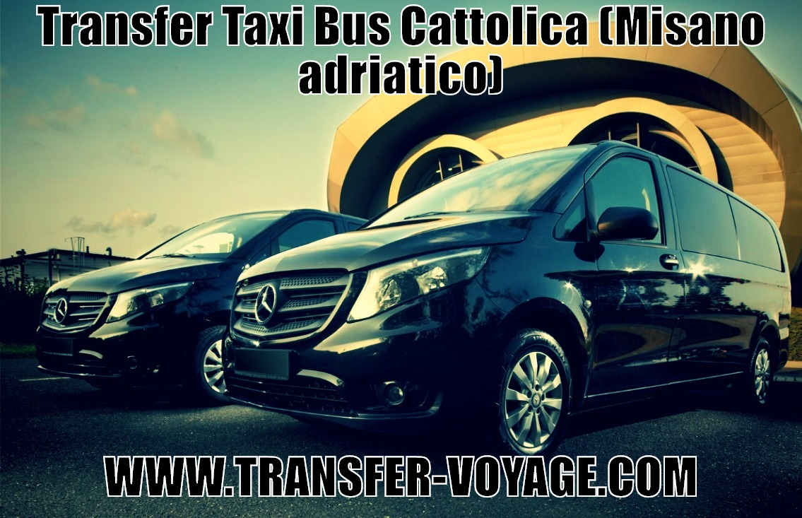Transfer taxi bus from Cattolica  misano adriatico to : Federico Fellini Airport Rimini   Bologna Airport   Bergamo Airport   Marche Airport Ancona   Venice Port   Rimini Train Station   Misano Adriatico   Bologna   Riccione   Bologna Centrale Train Station Transfer prices - Services at the airport - Transport from Cattolica - From the terminal to the hotel - Car with driver in Cattolica for passengers minibus with driver - Minibus hire with driver for a day price - Driving services and economy class taxi drivers - Private driver in Cattolica; - Bus with driver from Cattolica Airport; - How to get to Cattolica to the city; - Child safety seats; - Child seat for children; - Many suitcases and ski equipment; Child car seat; - Private driver; Class or business from the airport - Transfer by minibus from the airport from the Airport to the airport Order a private bus with a driver