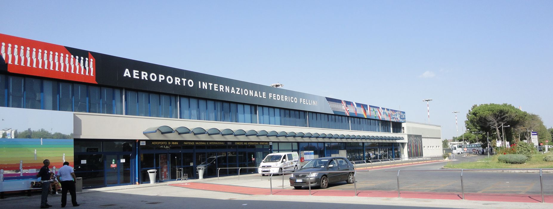 A Transfer taxi from Rimini airport