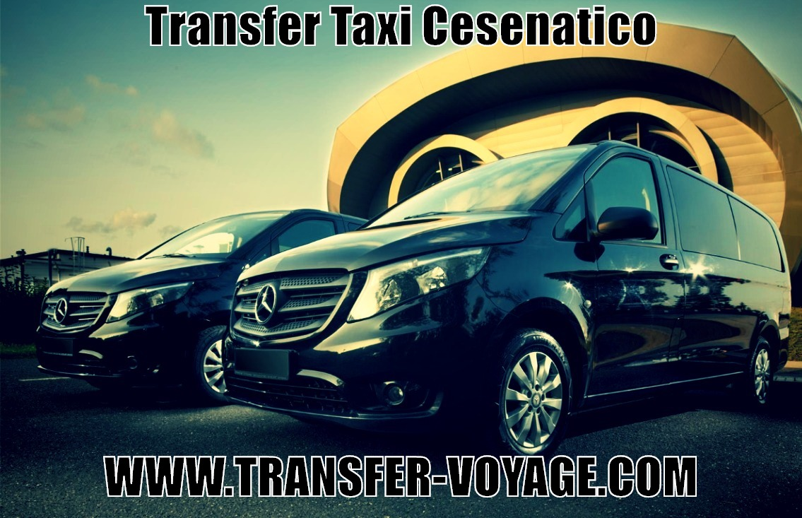transfer taxi bus from cesenatico to any city or airport in Italy Bologna ancona venice florence Milan Malpensa bergamo linate venice